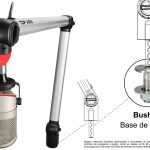 Imagens ilustrativas do suporte de microfone TOP ARM (3)